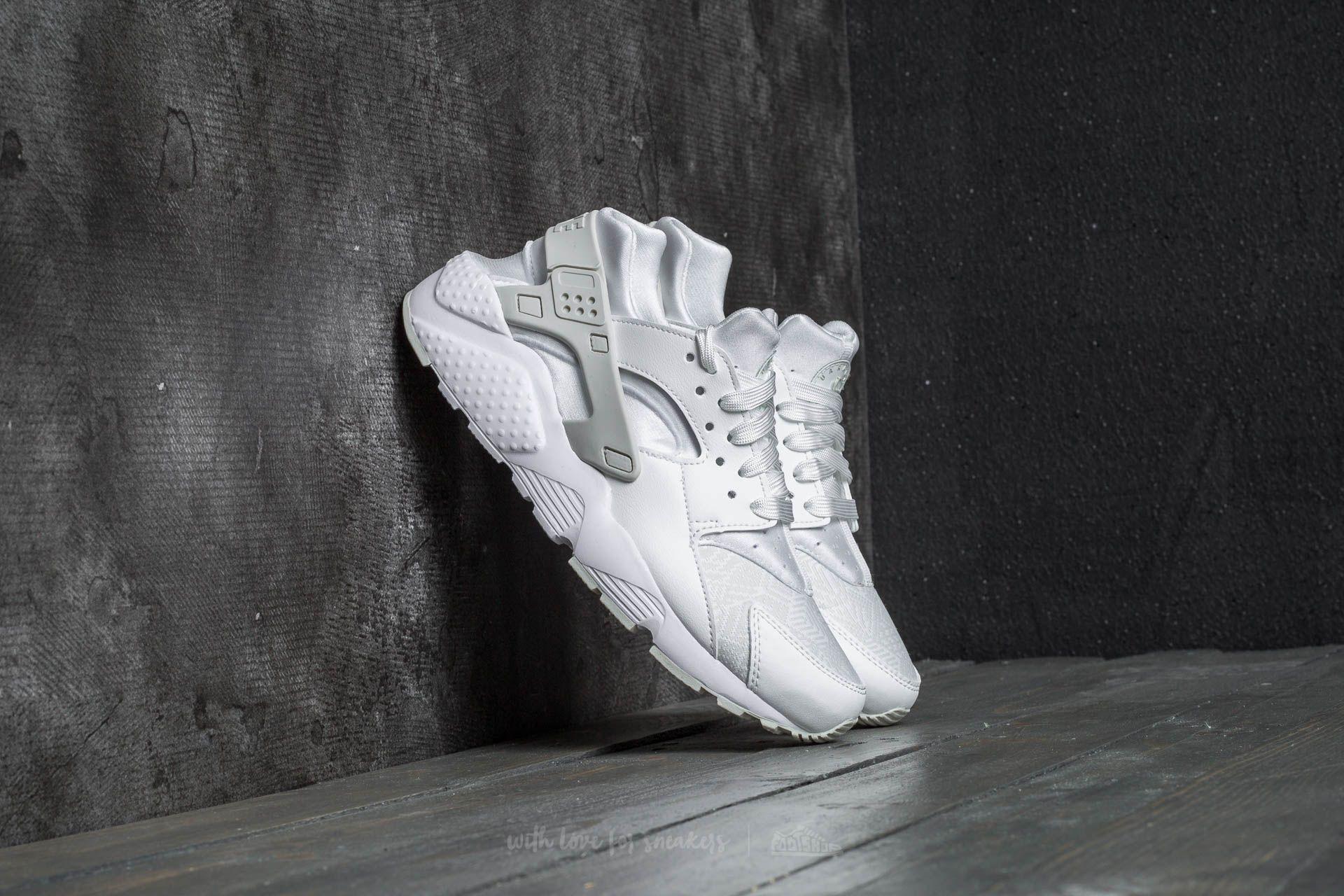 more photos 20393 f2f39 Nike Huarache Run SE (GS) Summit White/ Summit White | Footshop