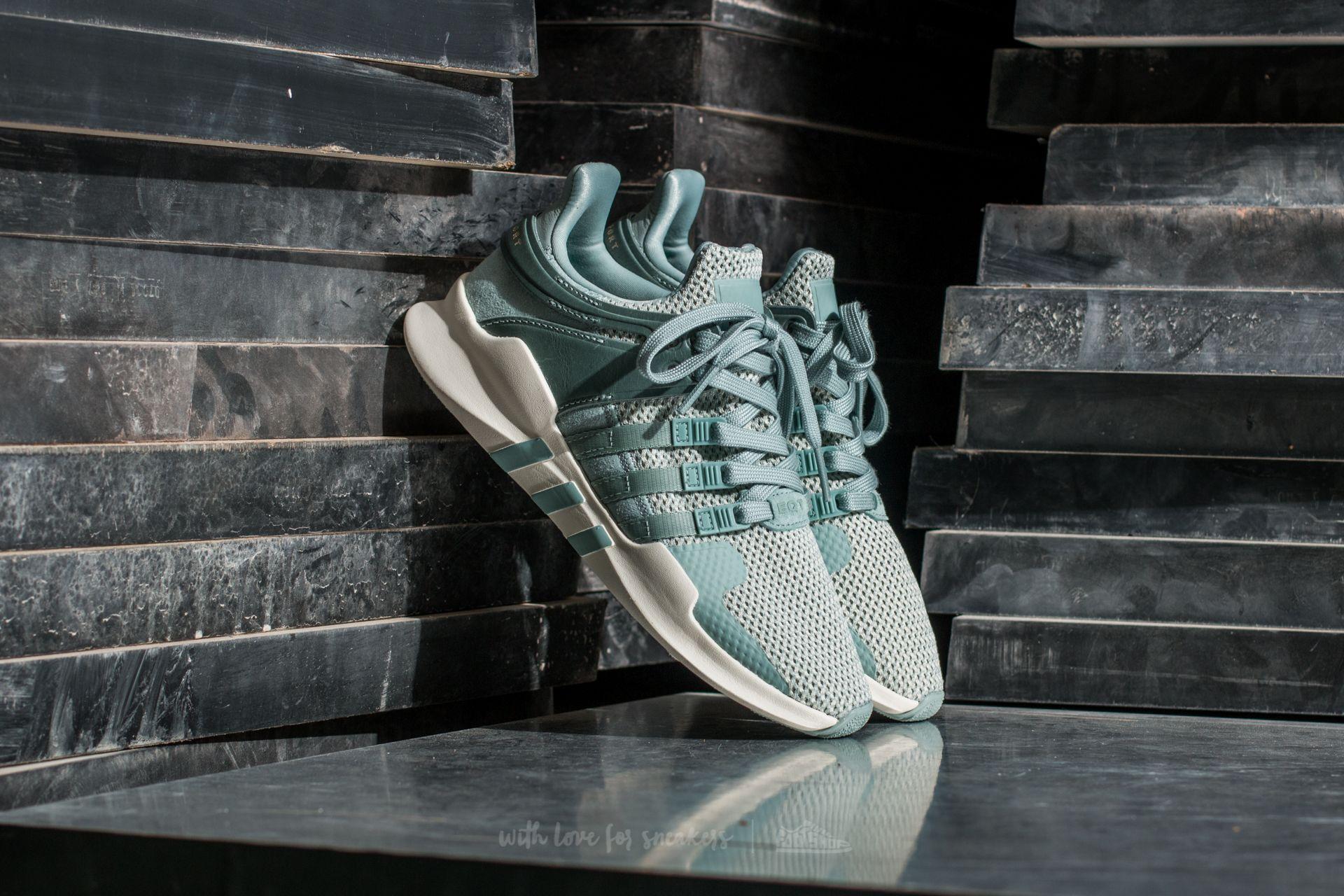 adidas equipment sneakers grey green