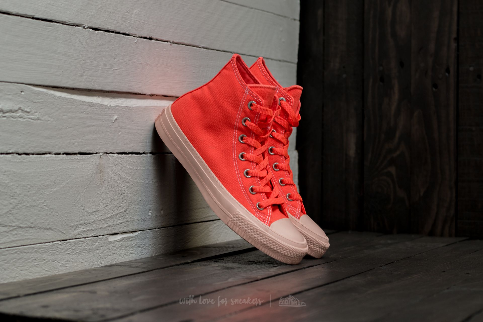 f5e8d0e7a431 Converse Chuck Taylor II All Stars Hyper Orange  Sunset Glow ...