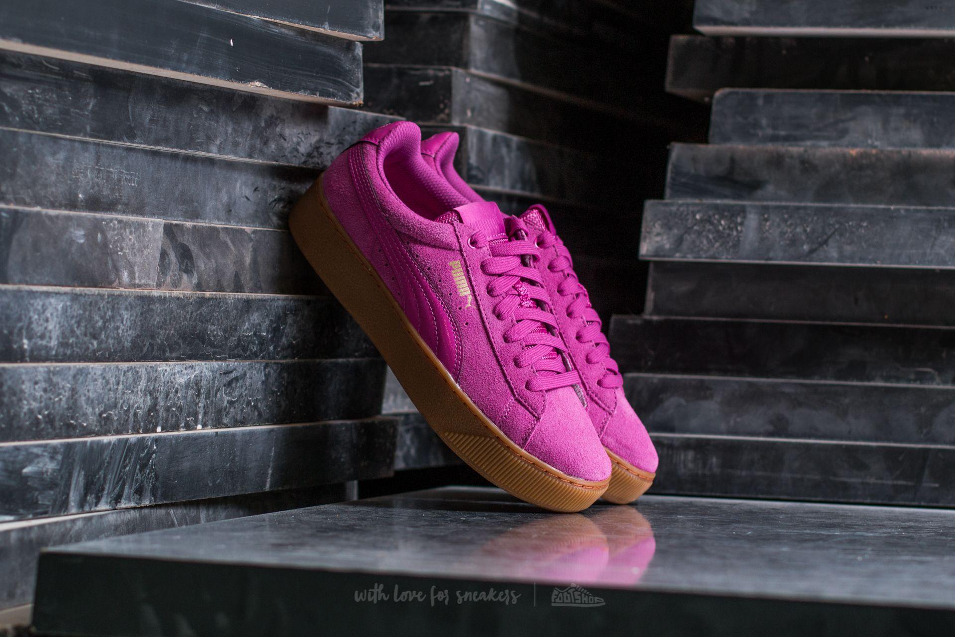 Puma Vikky Platform Rose Violet-Rose Violet  a34966eecb