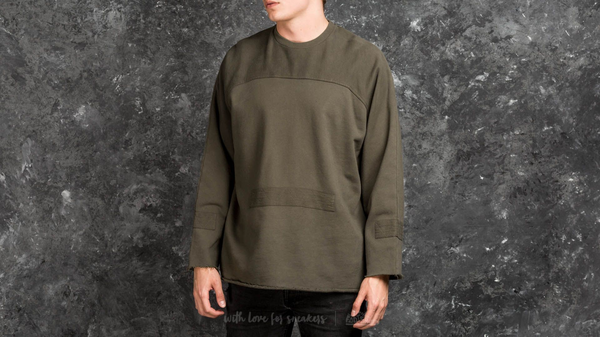 STAMPD Washed Down Longsleeve Crew