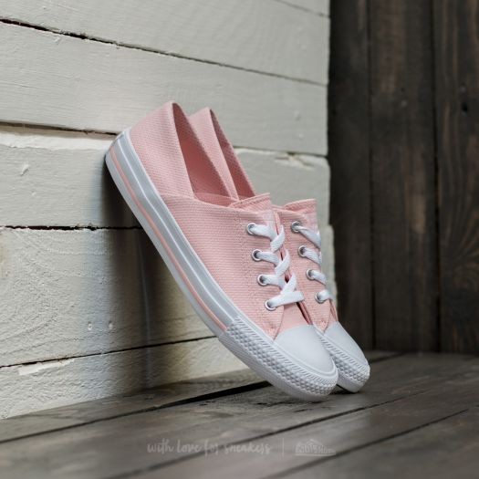 Converse Womens Chuck Taylor All Star Coral OX Shoes