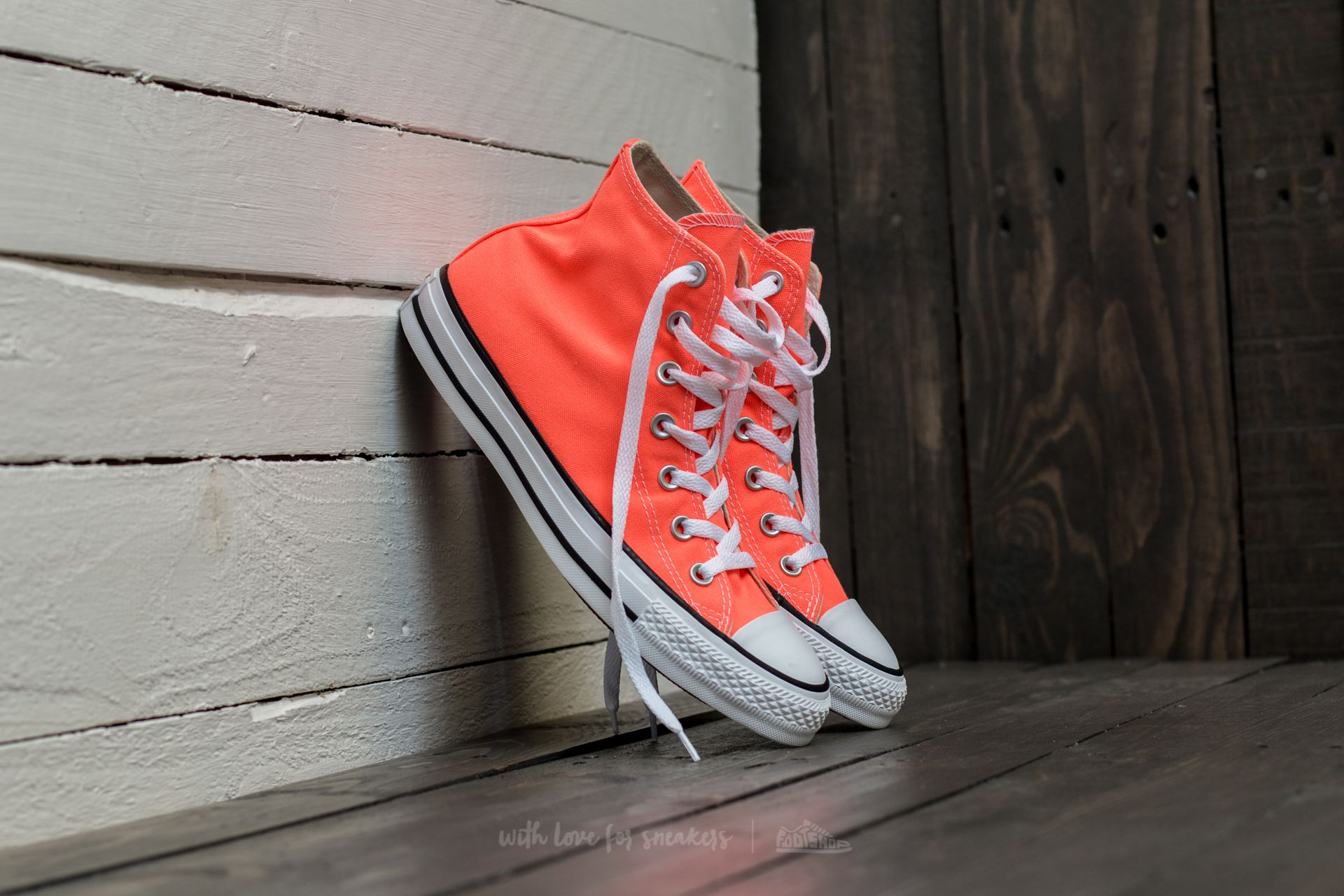 Converse Chuck Taylor All Star Hi Hyper Orange  e2f45fb0e