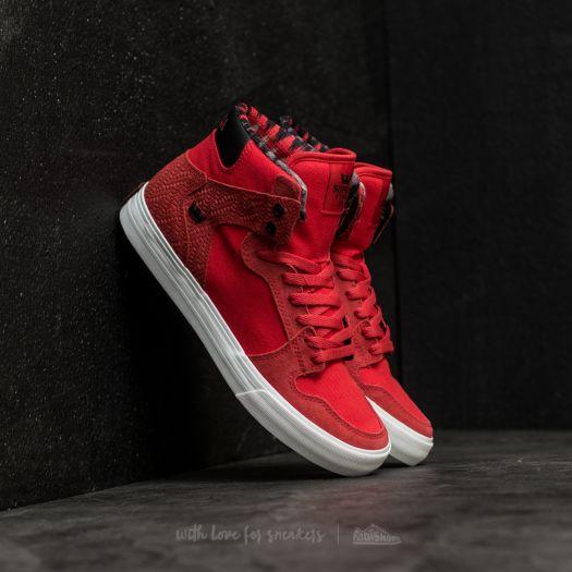 Men's shoes Supra Vaider Red-White