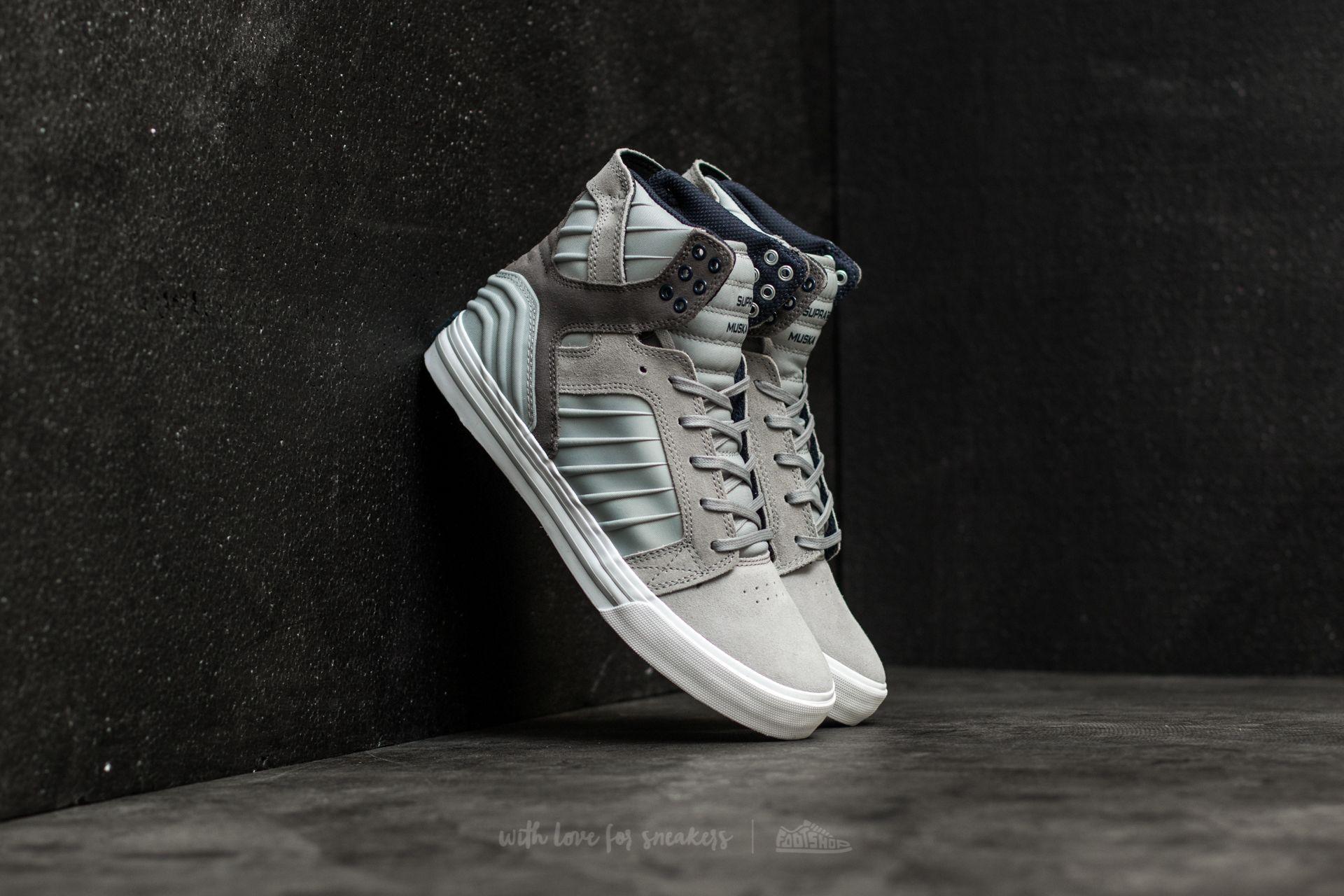 Men's shoes Supra Skytop Evo Grey-White