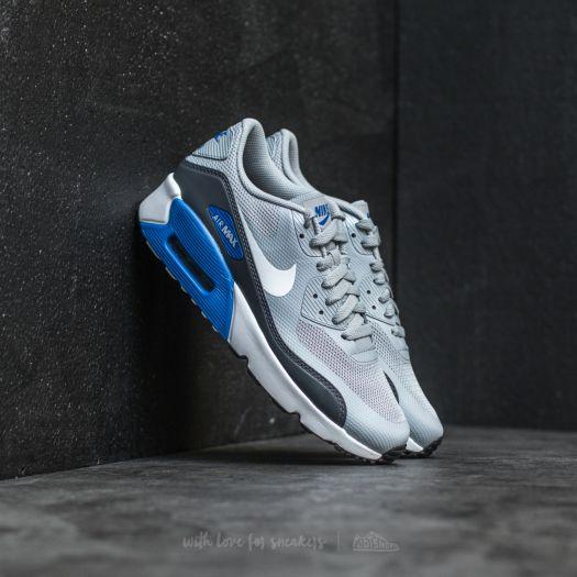 Nike Air Max 90 White Grey Black Blue