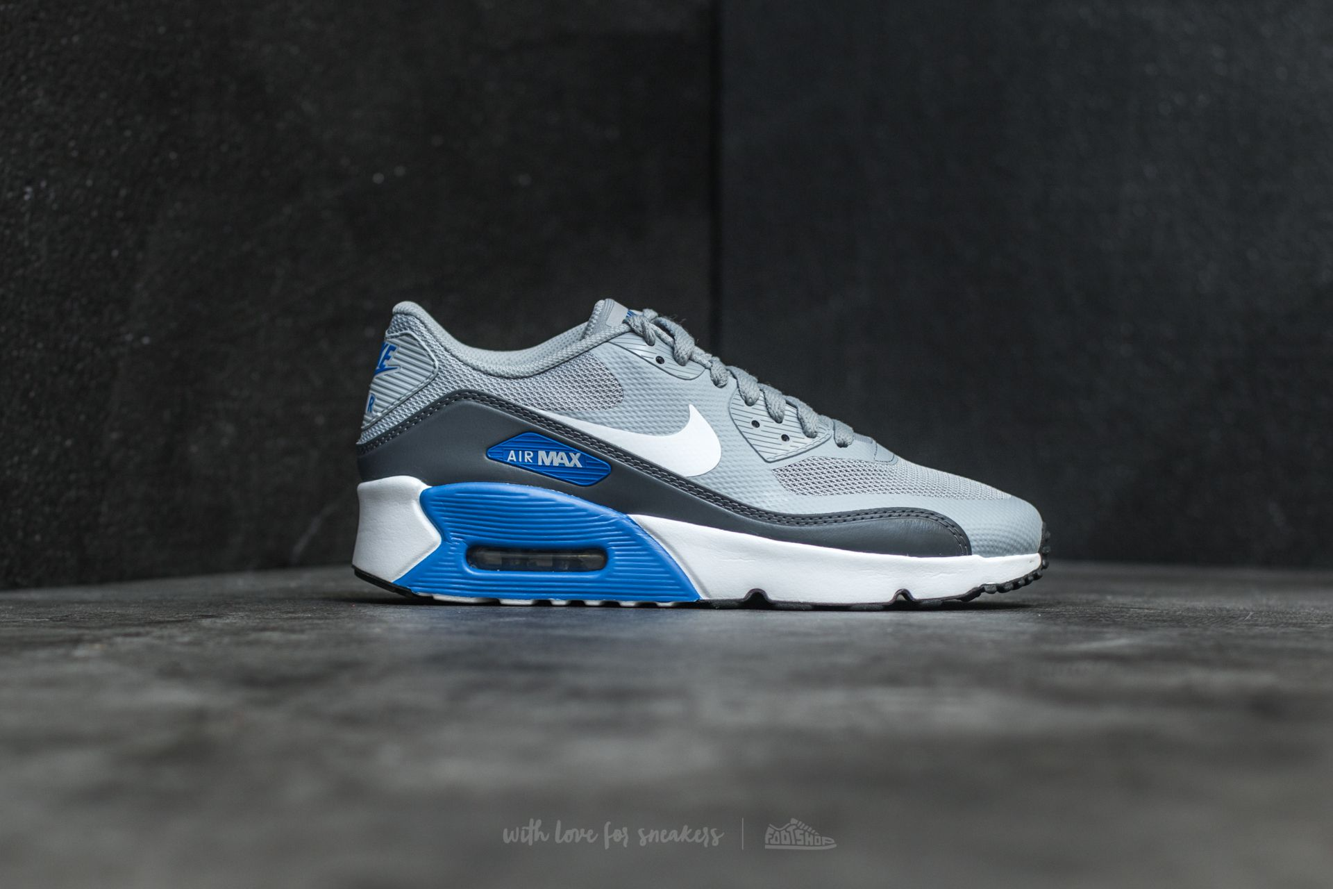 Nike Air Max 90 Ultra 2.0 (GS) Wolf Grey White Dark Grey   Footshop