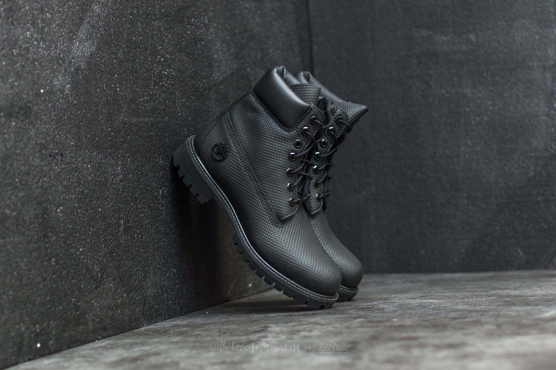 new product 34f47 d254a Timberland 6 Premium Boot Black