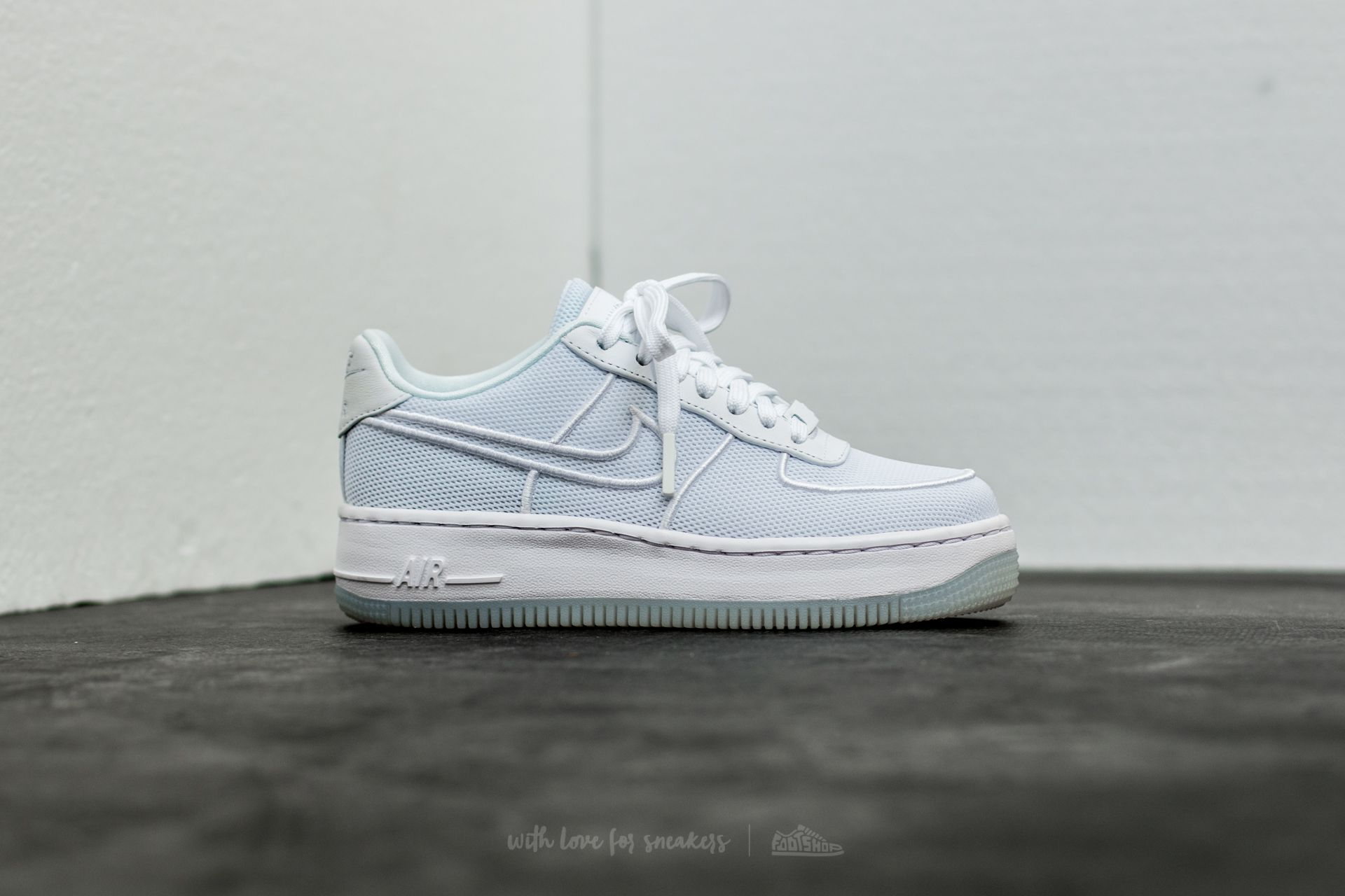 Upstep W Nike BlueFootshop Air 1 Br Glacier White Force Low xCeQrWBdo