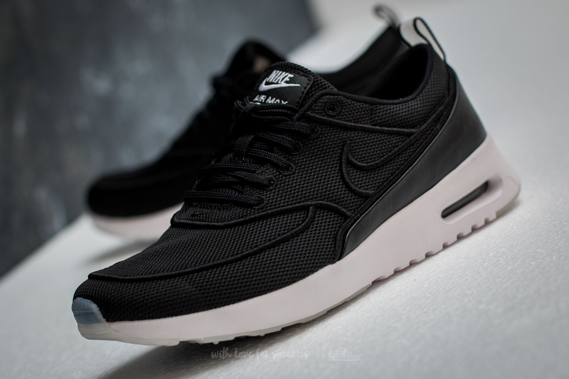 Nike W Air Max Thea Ultra SI Black Black White Glacier Blue | Footshop