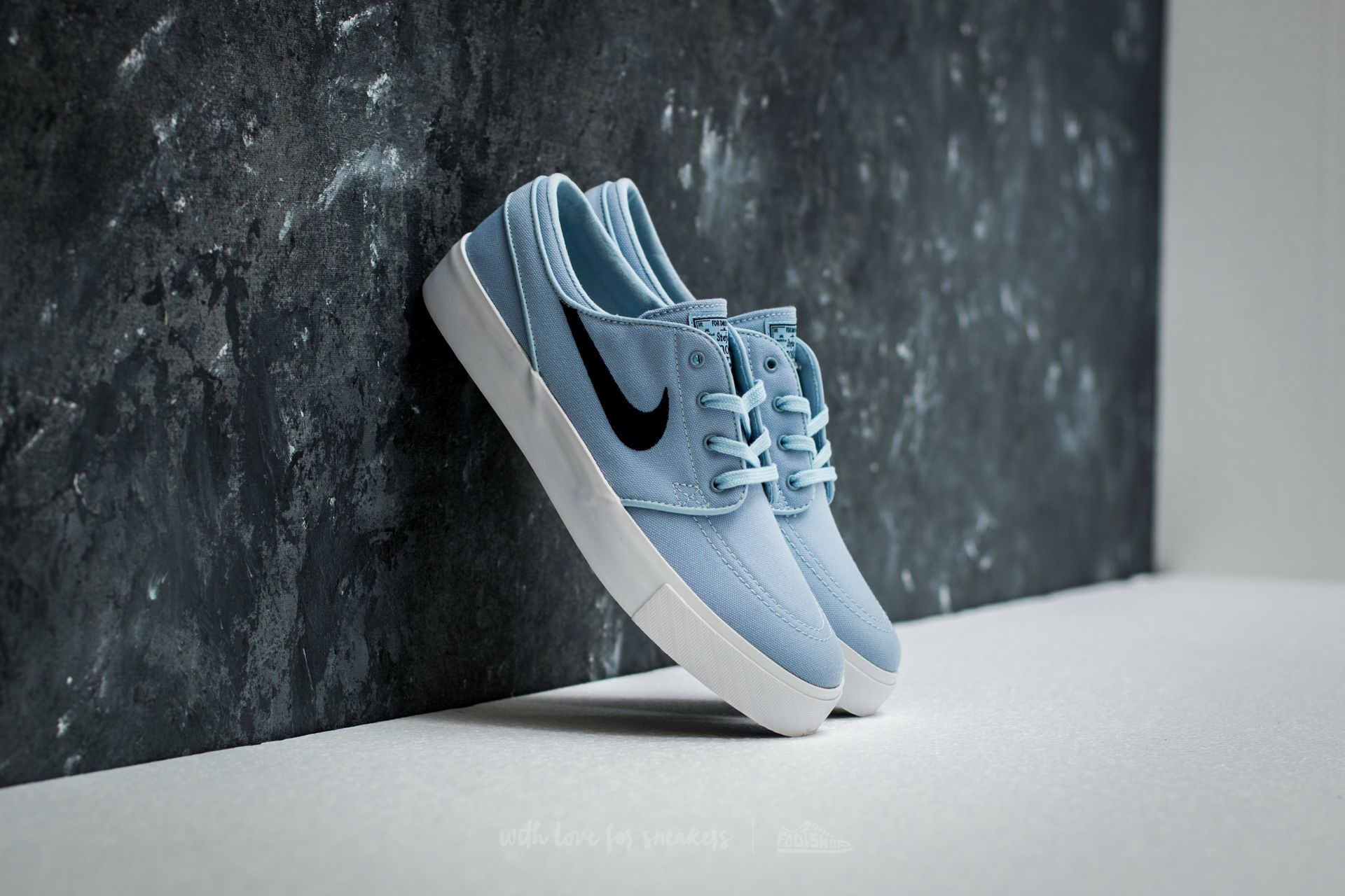 Nike Zoom Stefan Janoski Canvas Light Armoury Blue Obsidian | Footshop