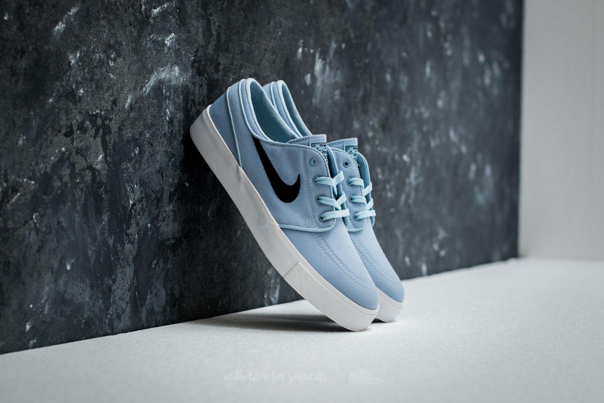Nike Zoom Stefan Janoski Canvas Light Armoury Blue