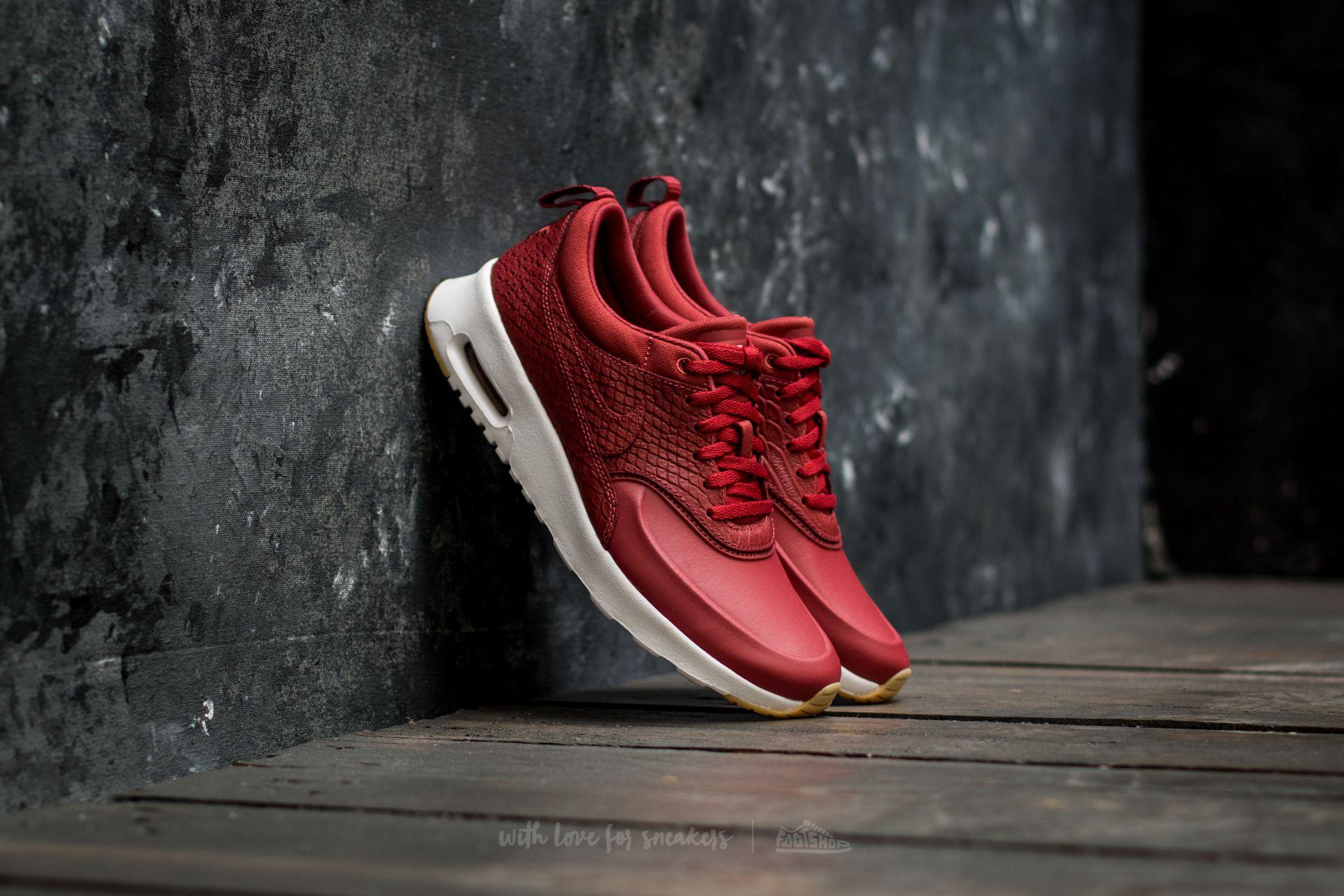 adolescente relé complemento  Women's shoes Nike Wmns Air Max Thea Premium Cedar/ Cedar-Gum Yellow-White  | Footshop