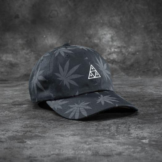 dc7d3b927 HUF Apparel 420 Triple Triangle Dad Hat Black | Footshop