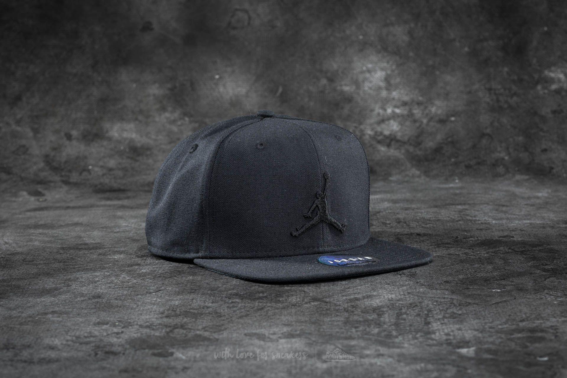 Jordan Jumpman Snapback Black  Black  2792adb8d91