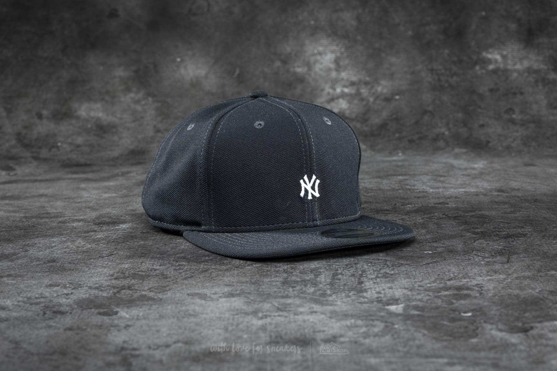New Era 9Fifty Border Edge Pique New York Yankees Cap Dark Grey/ White