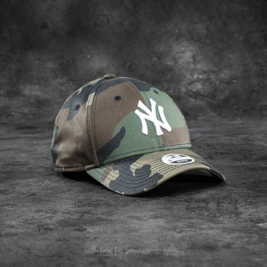 LEAGUE ESSENTIAL NY YANKEES CAMO NEW ERA 9FORTY CAP