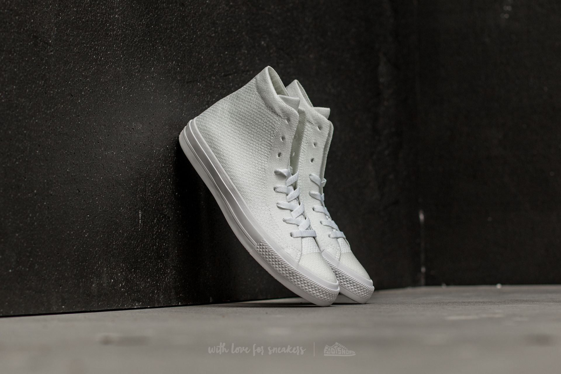 313c0898f93 Converse Chuck Taylor All Star II Flyknit Hi White  White  White ...