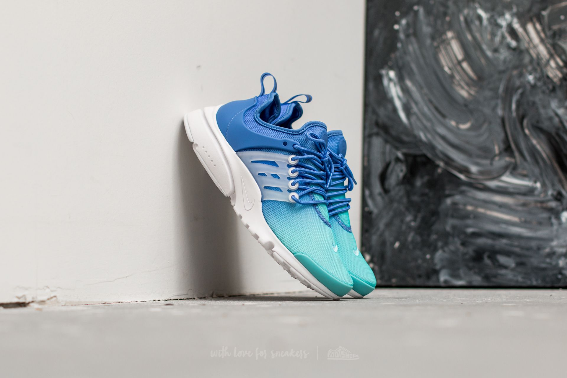 "Damskie Nike Air Presto Ultra BR ""Still Blue"""