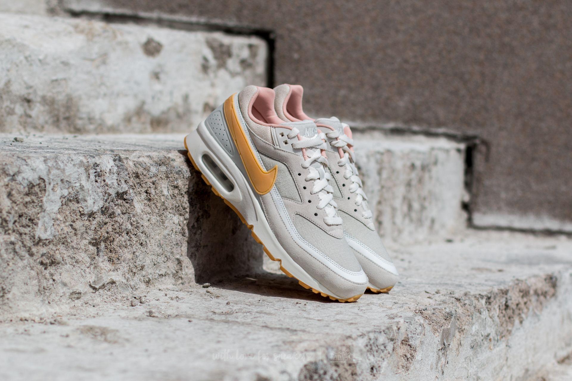 Yellow – Nike Air Max Bw Premium Mens ClassicRetro Phantom Gum Yellow – Light Bone