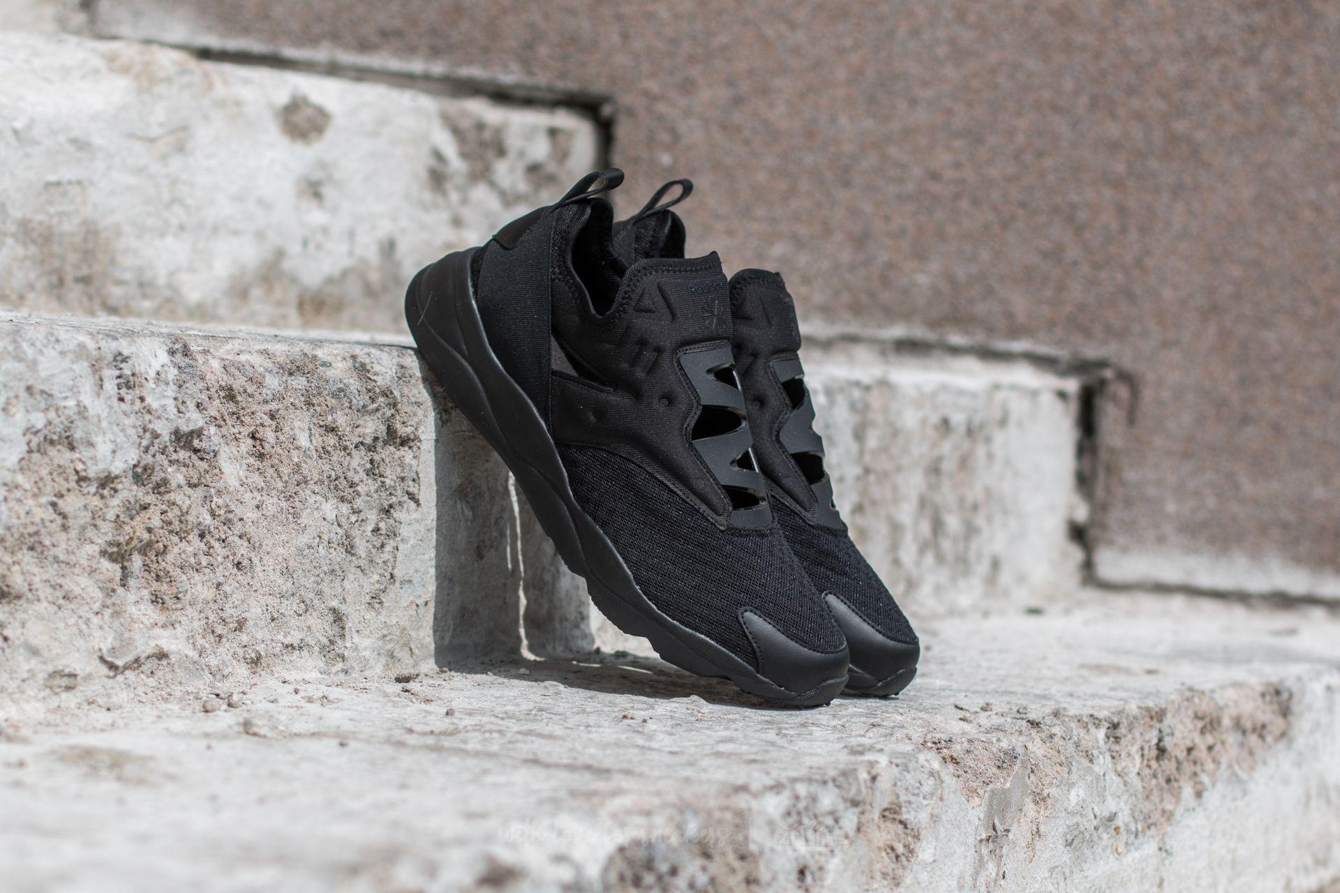 shoes Reebok Furylite Slip-On EMB Black