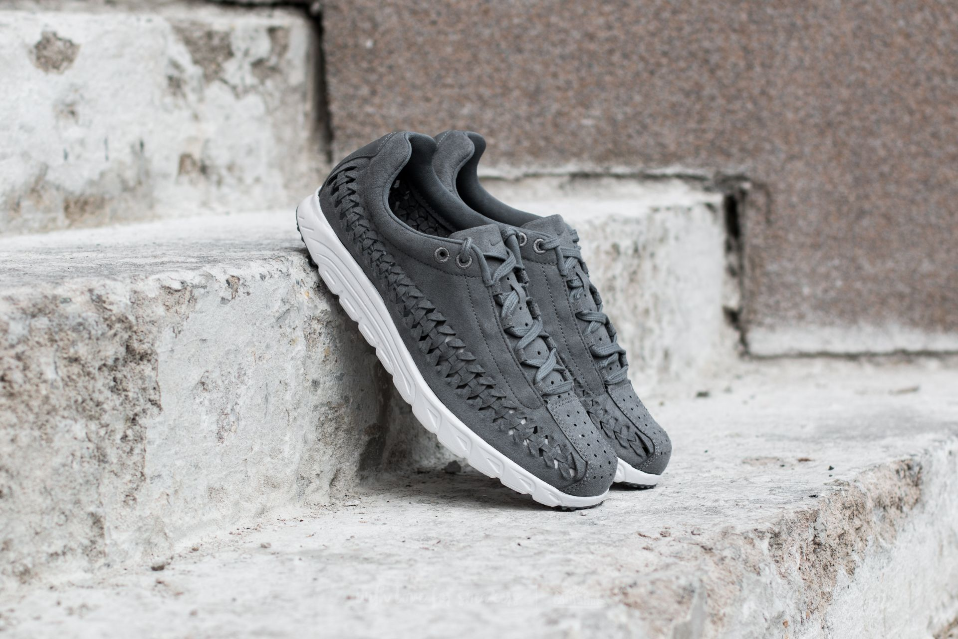 Nike Mayfly Woven Cool Grey  White-Black  423a8f71ef