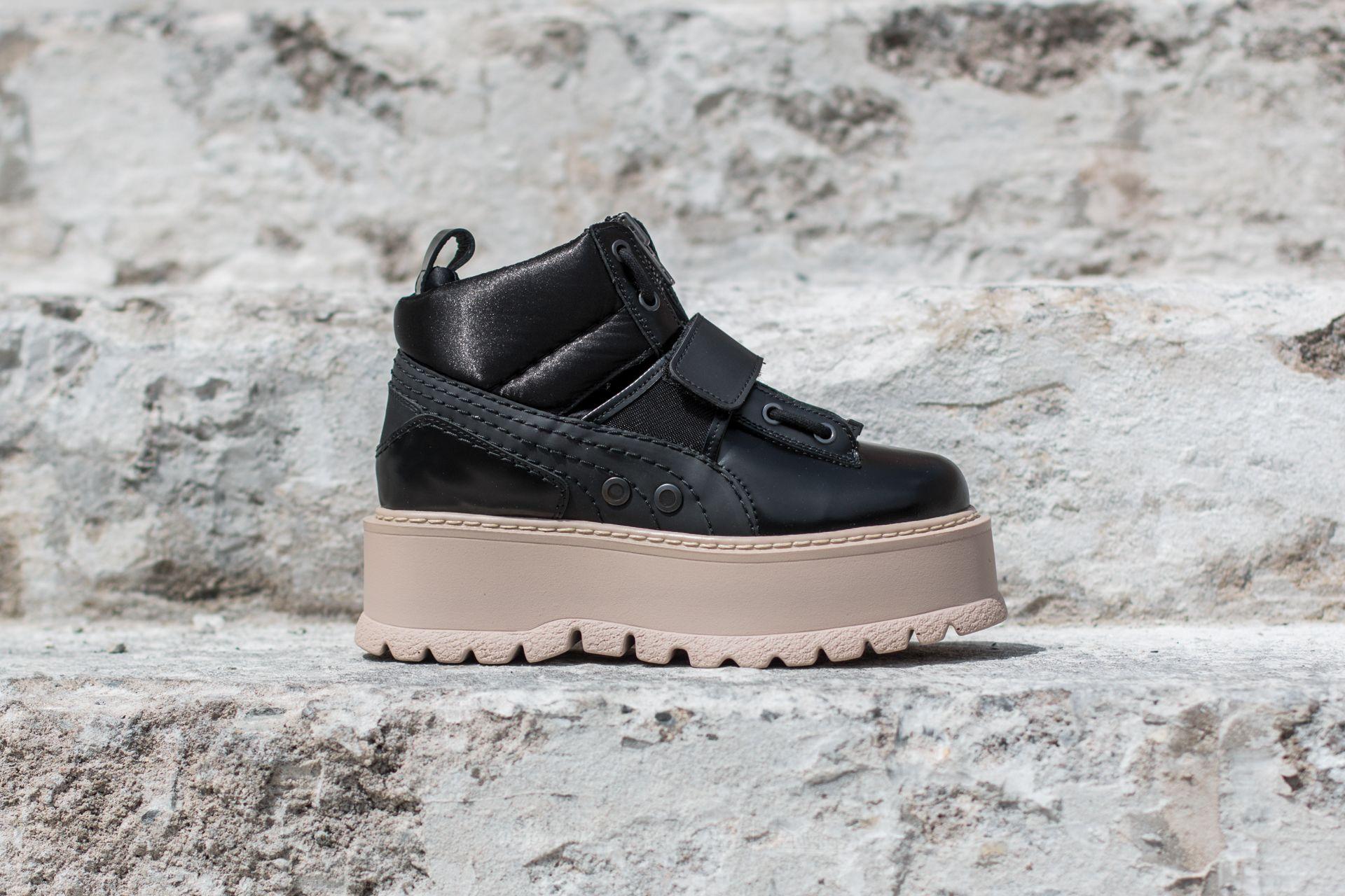 Puma FENTY Sneaker Boot Strap Wns Puma Black Puma Black Pink Tint | Footshop