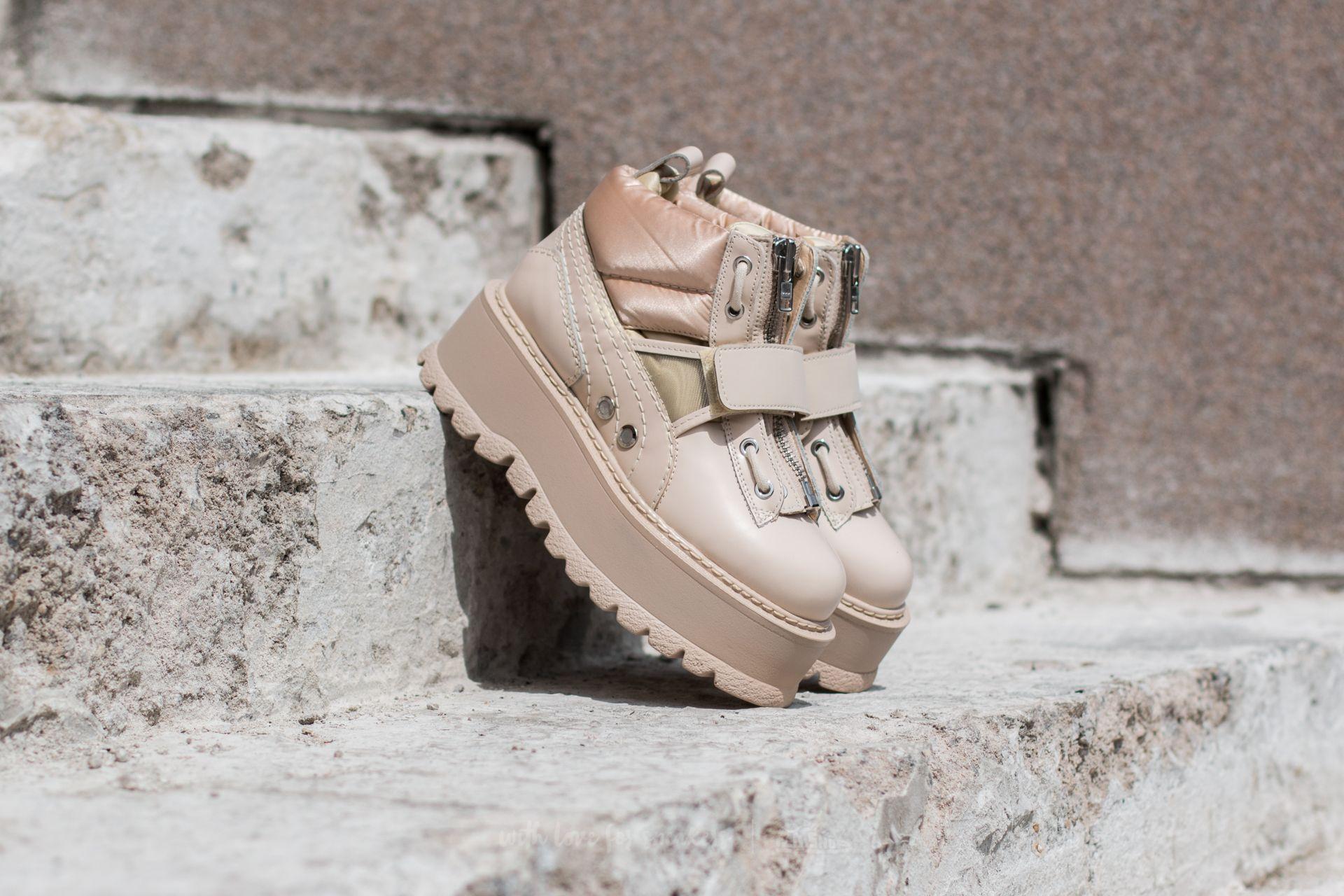 new product 52894 26f5a Puma FENTY Sneaker Boot Strap Wns Pink Tint-Pink Tint Tint ...