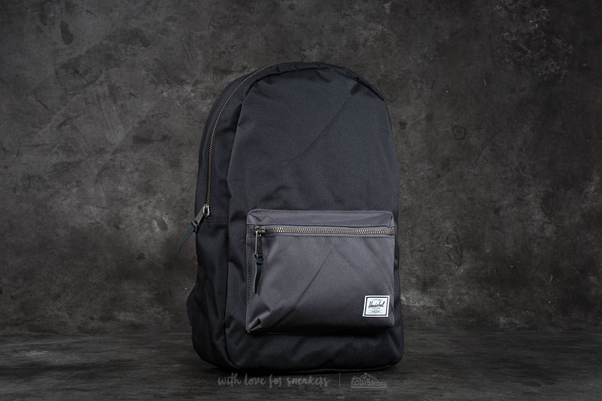 d1762815f06 Herschel Supply Co. Settlement Backpack Black  Charcoal   Footshop