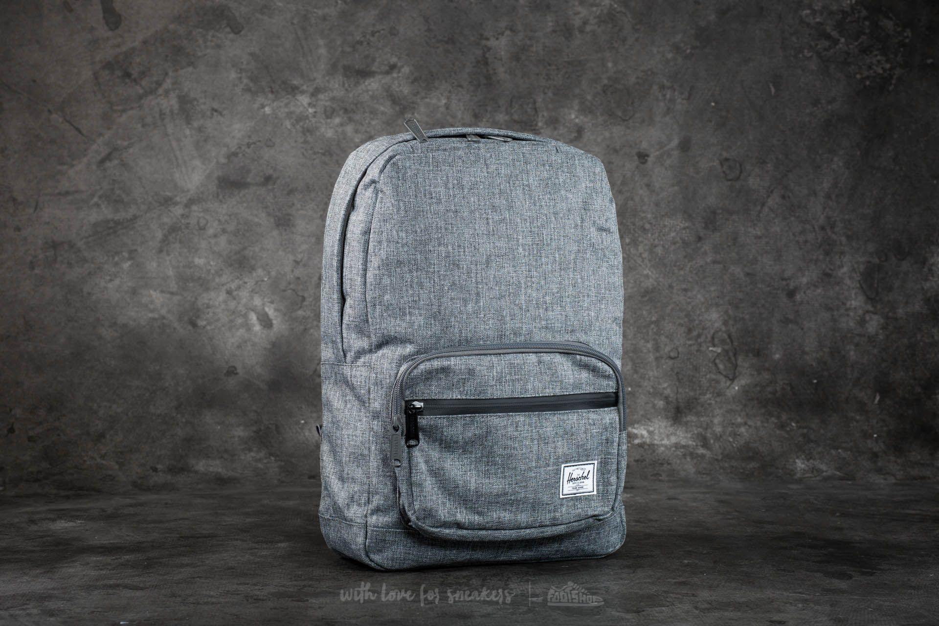 49def092baa Herschel Supply Co. Pop Quiz Mid-Volume Backpack Raven Crosshatch