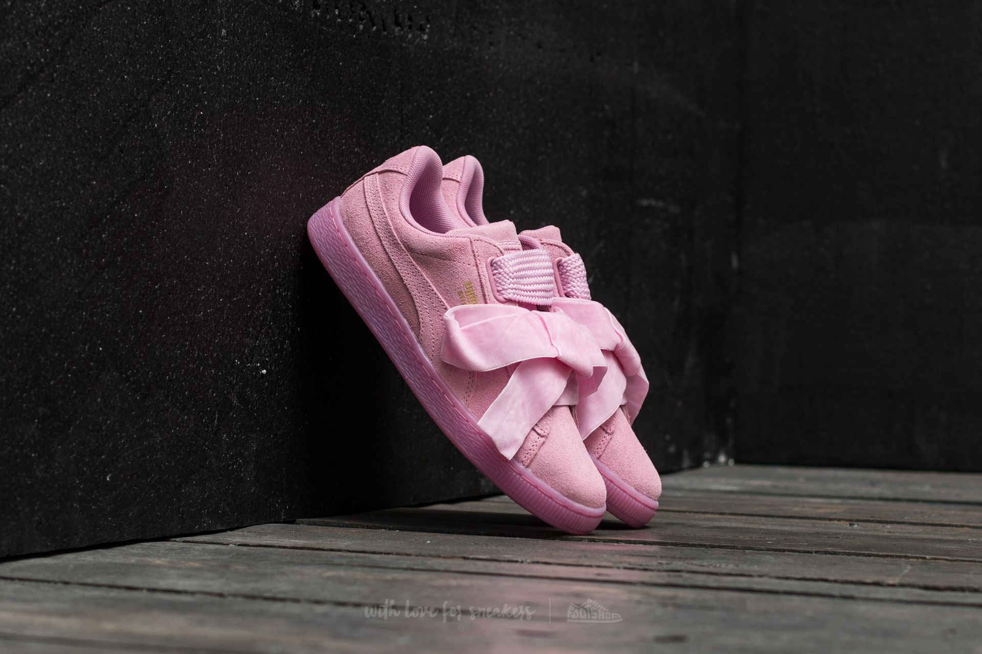 Puma Suede Heart Reset Wn´s Prism Pink-Prism Pink  7aaa241db17