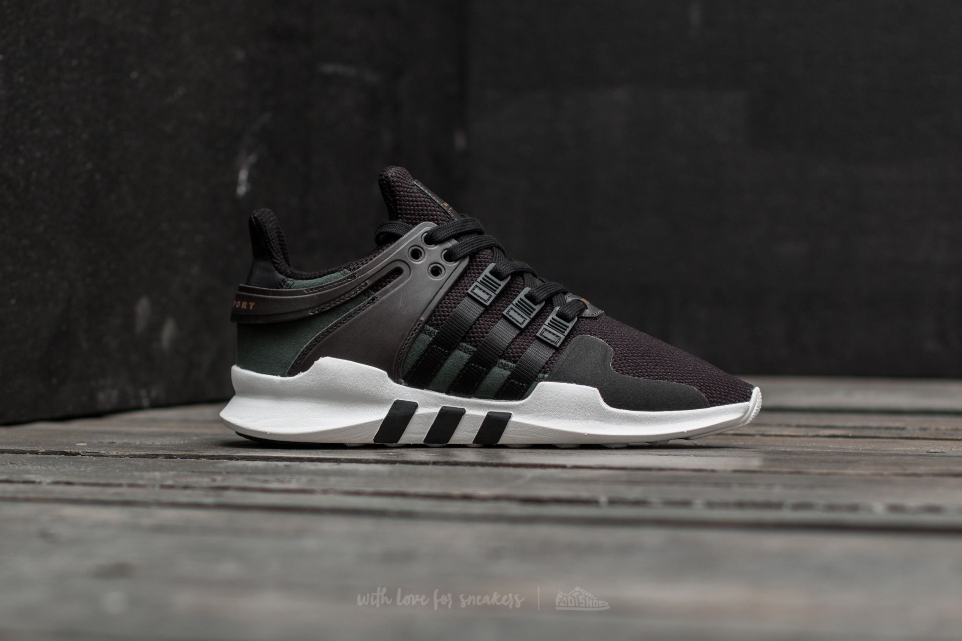 details for new release official images adidas EQT Support ADV Core Black/ Core Black/ Ftw White ...