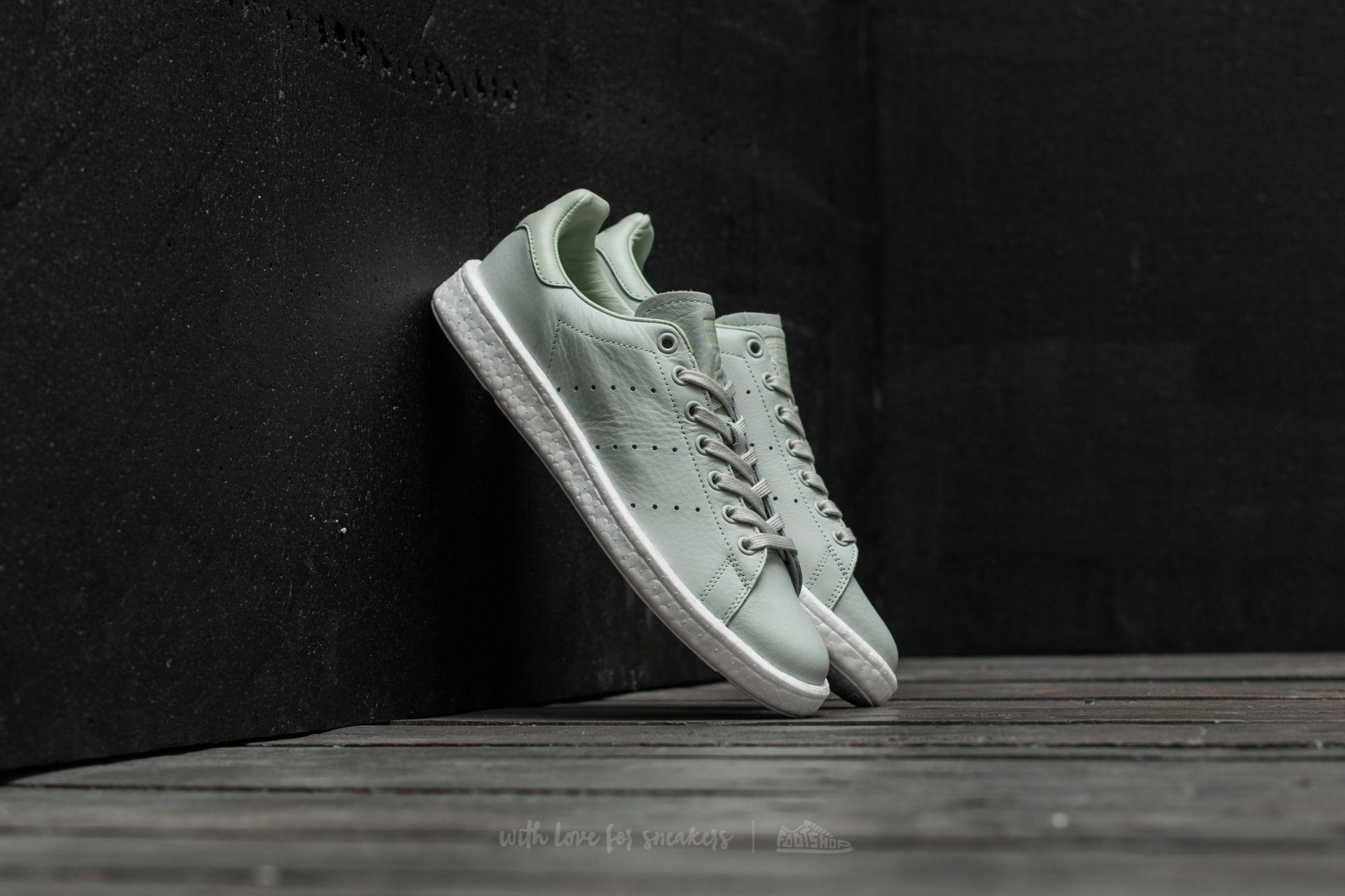 63a6d37292a adidas Stan Smith Boost Linen Green/ Linen Green