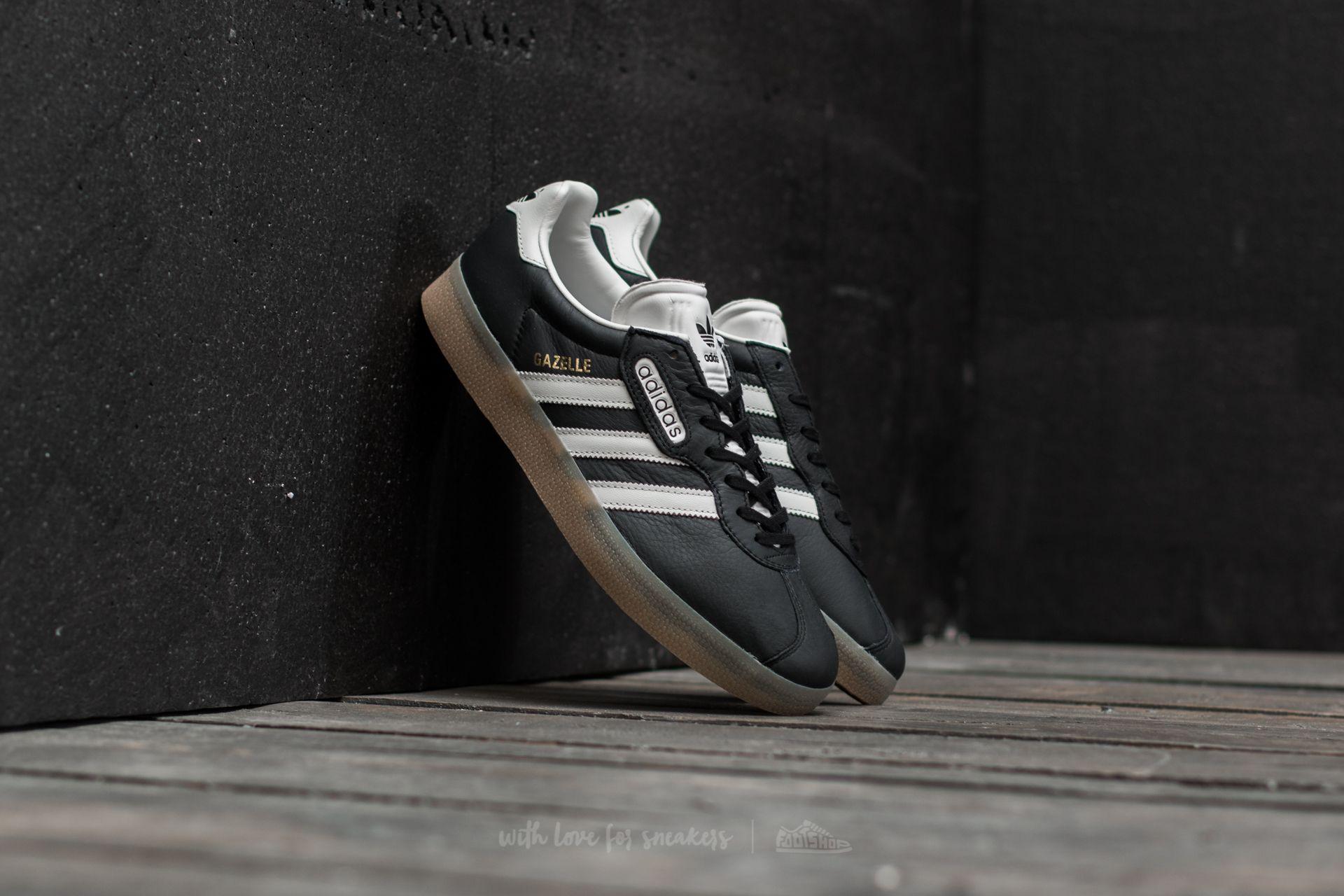 adidas Gazelle Super Core Black Vintage White Gum   Footshop