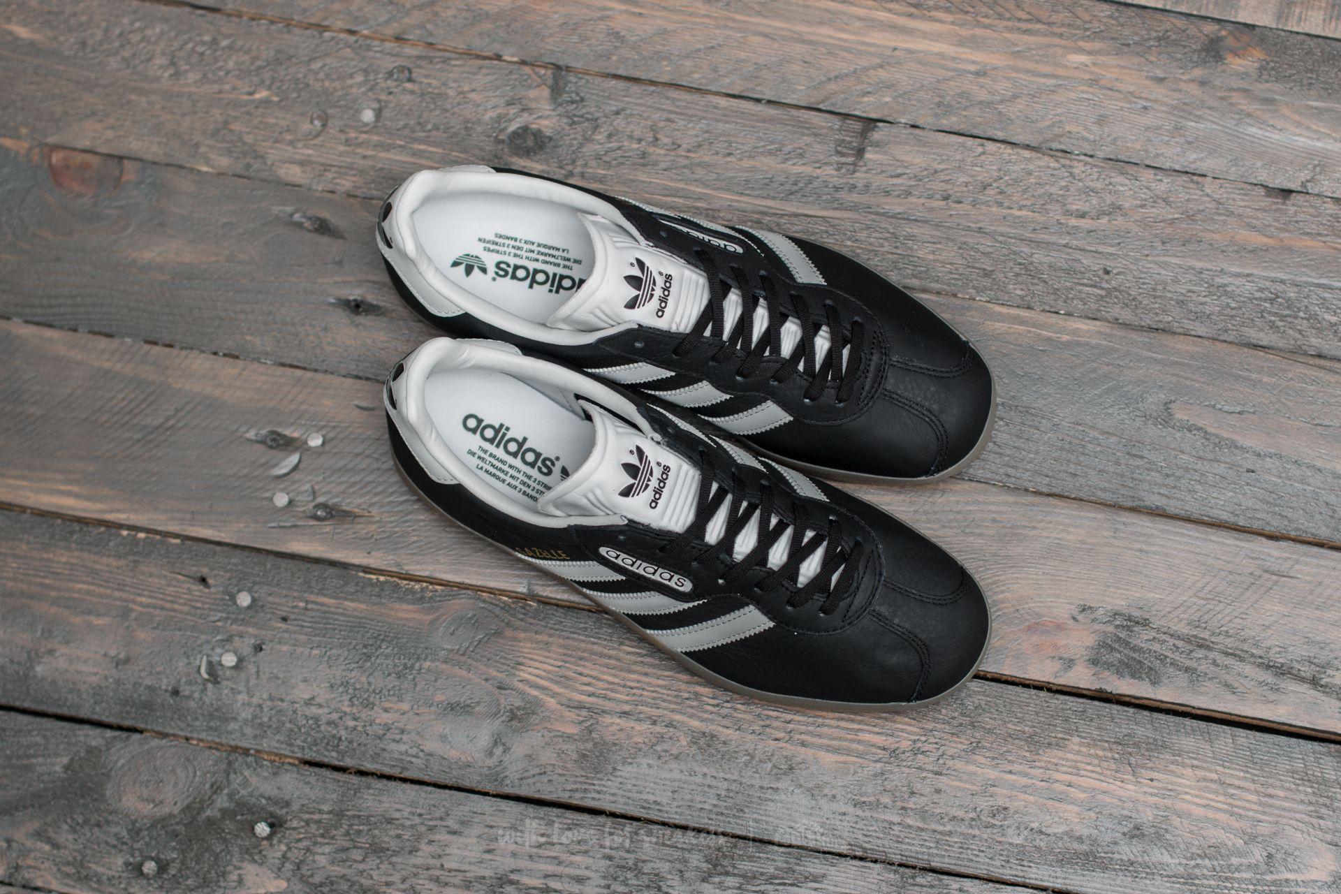 adidas Gazelle Super Core Black Vintage White Gum | Footshop