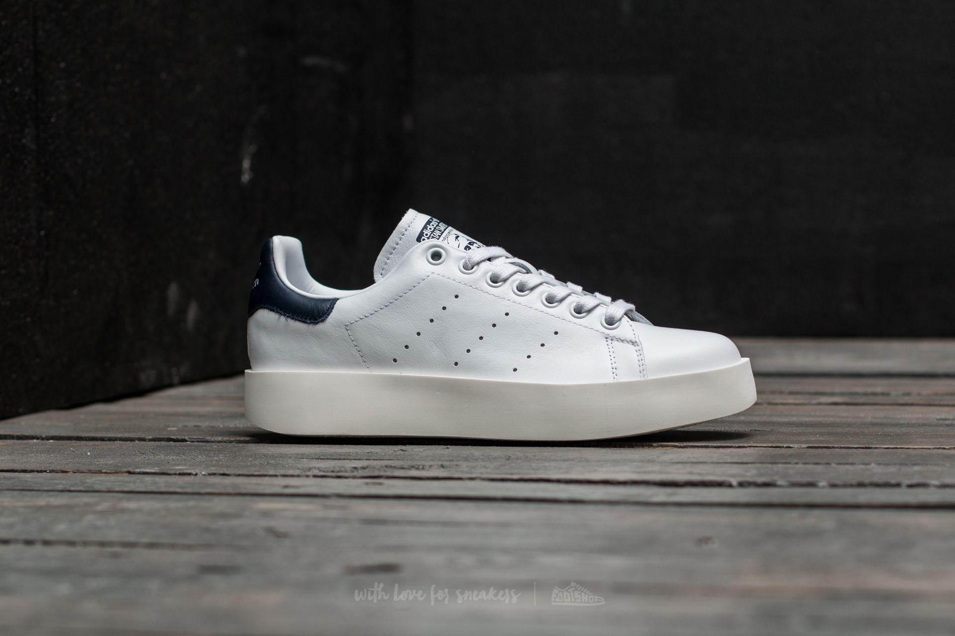 adidas Stan Smith Bold Ftw White/ Collegiate Navy/ Vintage White ...