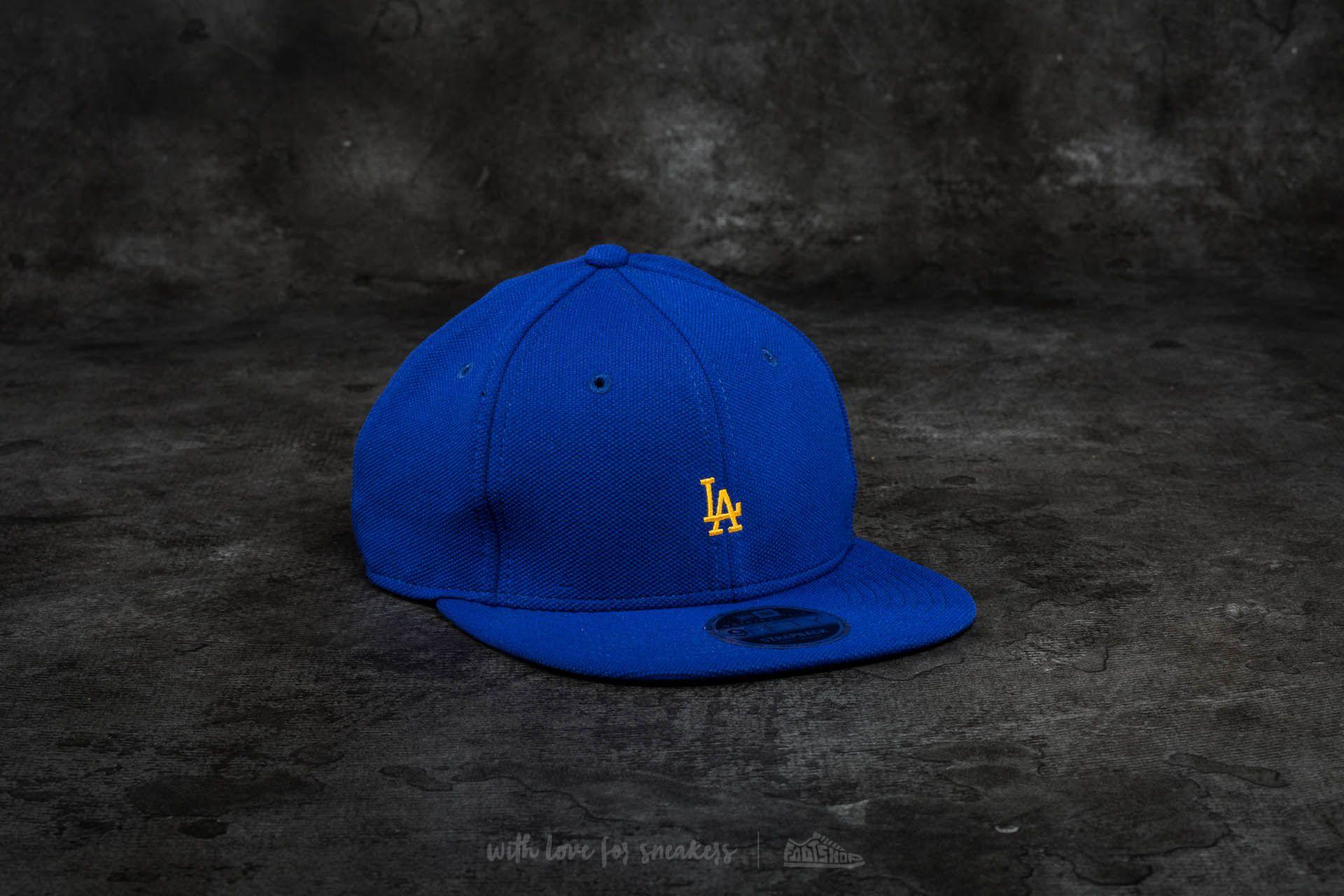 New Era 9Ffity Border Edge Pique Los Angeles Dodgers Cap Blue