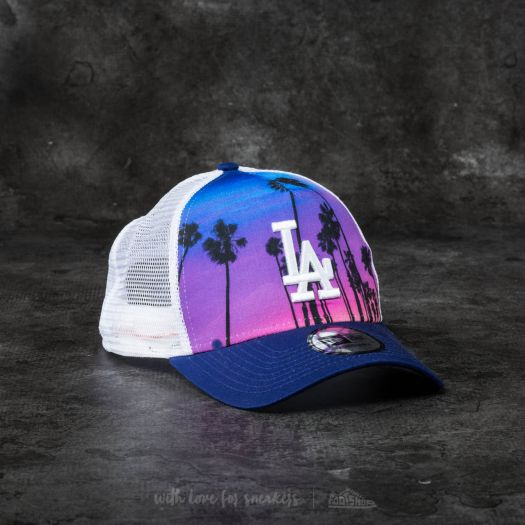 7a523abb2bc New Era Adjustable West Coast Print Los Angeles Dodgers Cap Navy  Pink