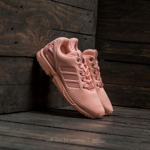 sports shoes ccf14 8b24e adidas ZX Flux J Haze Coral/ Haze Coral/ Haze Coral | Footshop