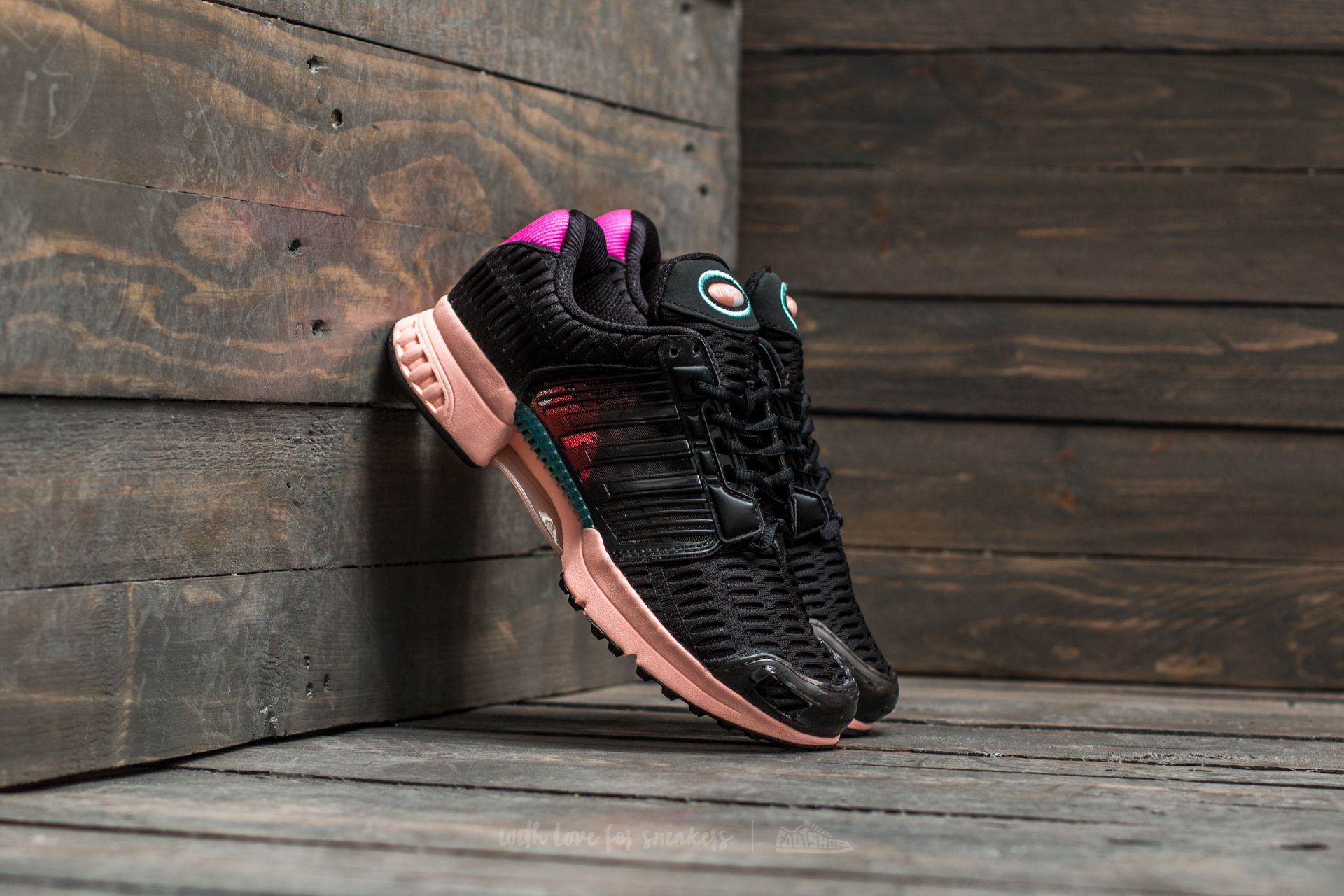 3433016bee53 adidas Climacool 1 W Core Black  Core Black  Haze Coral