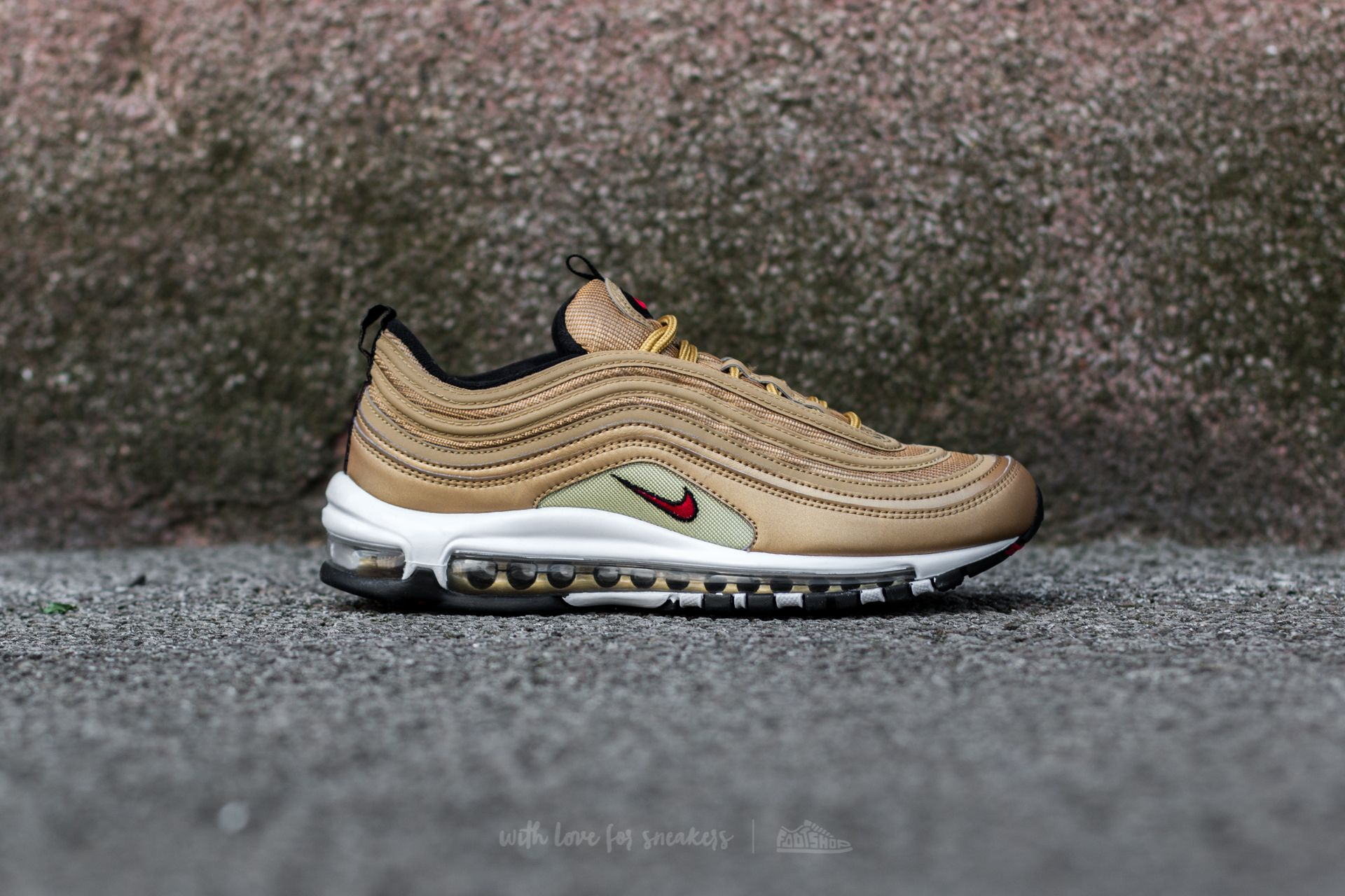 sale retailer f5cf2 0db9d Nike W Air Max 97 OG QS Metallic Gold/ Varsity Red | Footshop