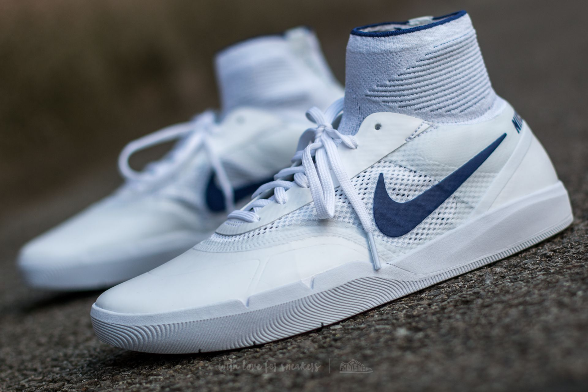 ballena Pólvora Empotrar  Men's shoes Nike SB Hyperfeel Koston 3 White/ Deep Royal Blue | Footshop