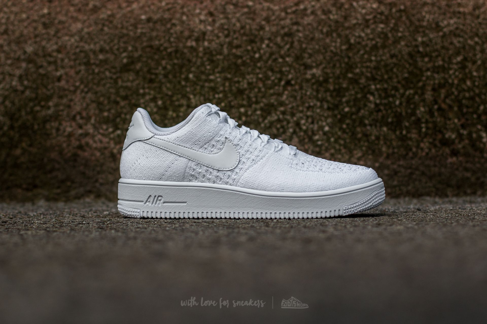 Nike Air Force 1 Ultra Flyknit Low White White White | Footshop
