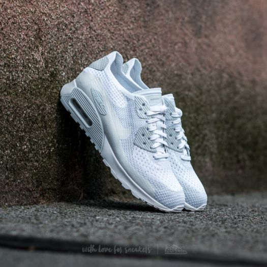 official photos 77697 7279b Nike W Air Max 90 Ultra 2.0 Flyknit White/ White-Pure ...