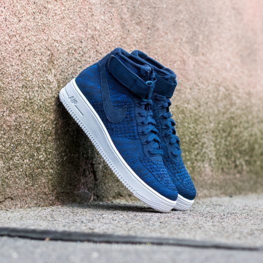 Nike Air Force 1 Ultra Flyknit Mid College Navy College