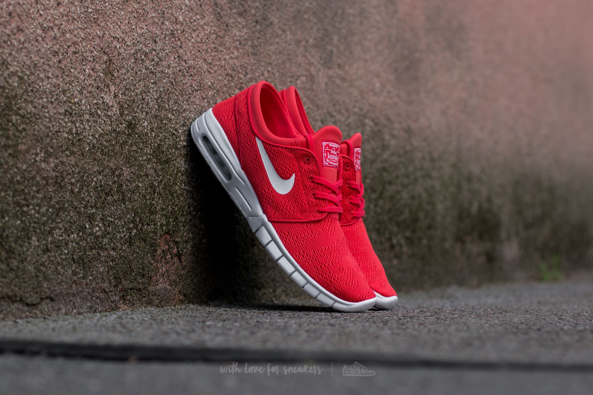 shoes Nike Stefan Janoski Max Track Red