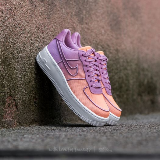 Nike W Air Force 1 Low Upstep BR Orchid White Sunset Glow