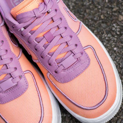 Nike Air Force 1 Low Upstep BR W chaussures orange violet