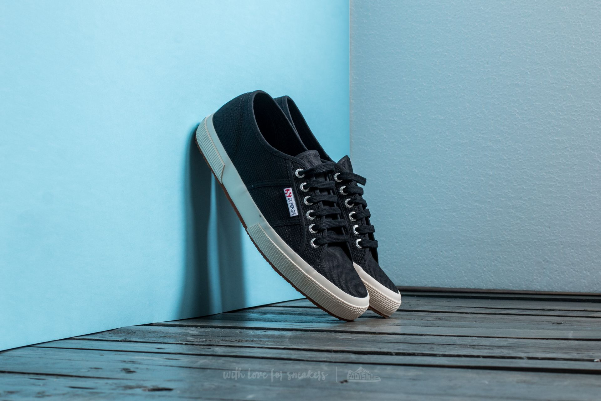 b53487ccd11 Superga 2750 Cotu Classic Black   Footshop