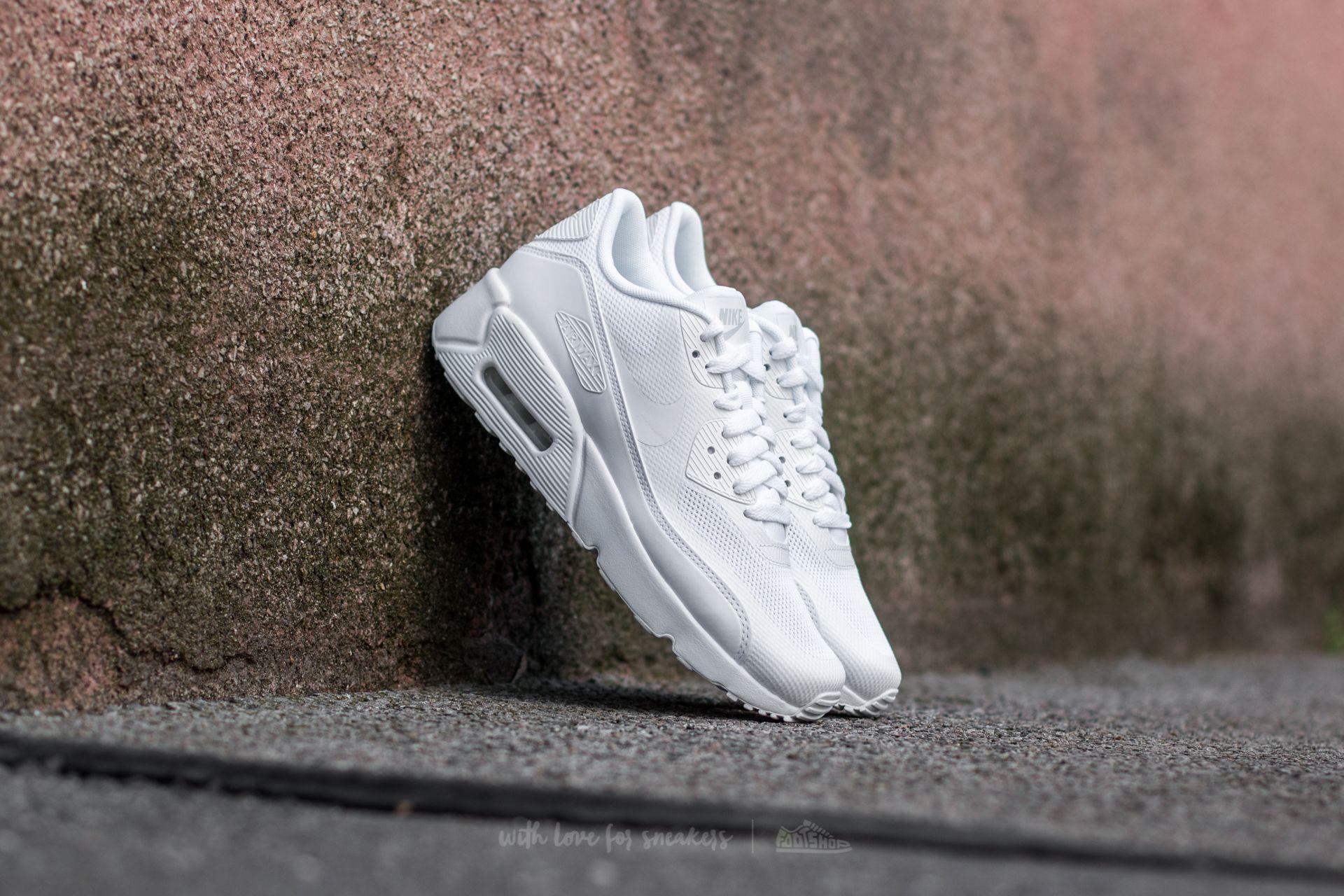 cheap for discount e92c3 031d8 Nike Air Max 90 Ultra 2.0 (GS) White/ White-White | Footshop
